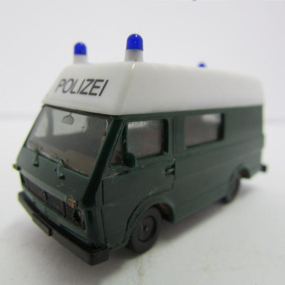 Escala 1/87 Herpa Volkswagen Carro De Policia Jorgetrens