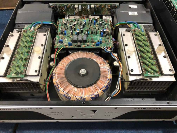 Amplificador De Potencia Etelj Slim 6000w Rms Nao Times One