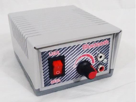 Amplificador De Áudio Estéreo Bluetooth Rca/p2 24w
