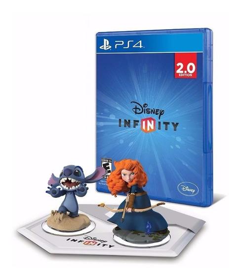 Kit Starter Disney Infinity 2.0 Brave Merida Stitch Ps4