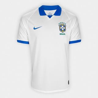 Camisa Seleção Brasileira Copa América Branca 2019