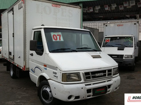 Iveco Daily Chassi 50-13 Baú Porta Lateral 2007 Conservada