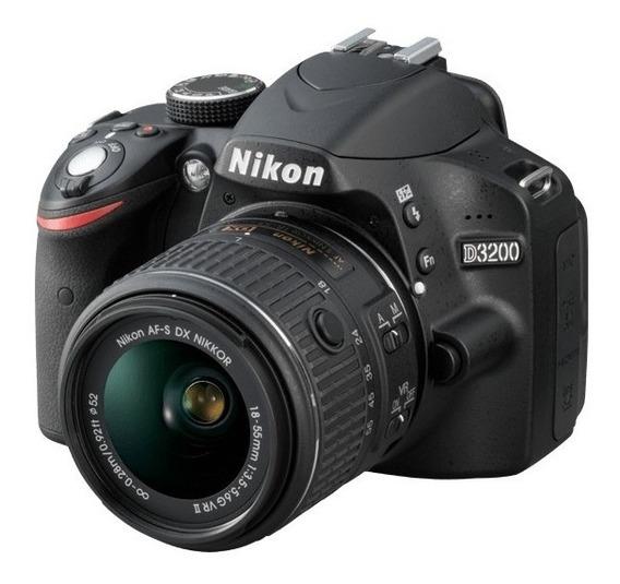 Câmera Fotográfica Nikon D3200 + 2 Lentes