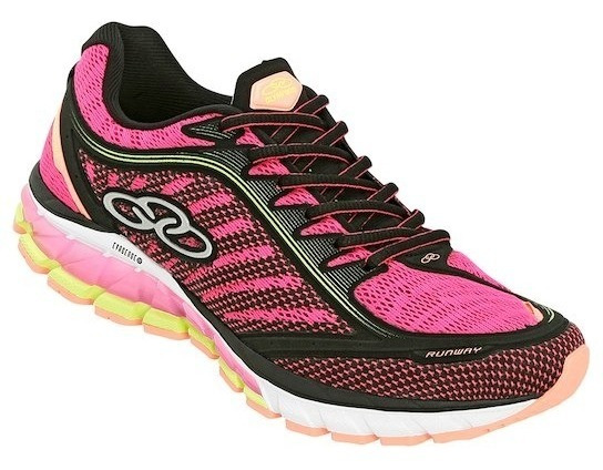 Tênis Olympikus Runway Feminino - Pink E Preto
