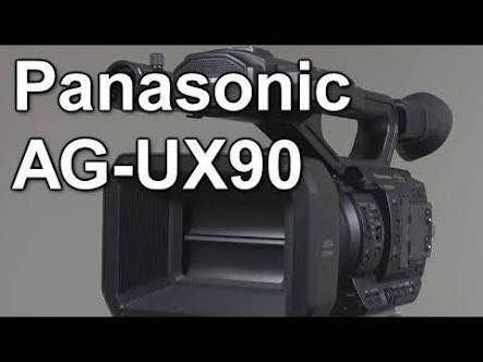 Filmadora Panasonic Ag - Ux 90 / Profissional 4k Nova