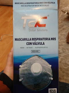 Mascarilla Tac N95 Caja Con 20 Piezas- Previene Coronavirus