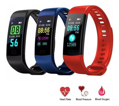 Pulsera Smart Band Watch Deportes Podometro Sensor Cardiaco®