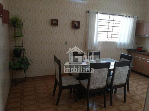 Casa Com 3 Dormitórios À Venda, 250 M² Por R$ 349.000 - Vila Tibério - Ribeirão Preto/sp - Ca1962