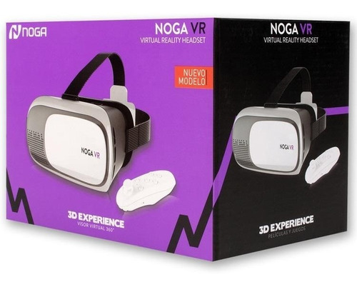 Visor 3d - Noga Vr Visor Virtual 360