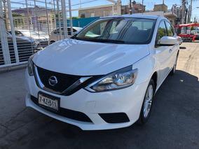 Nissan Sentra 1.8 Sense Cvt 2018 Blanco Tela