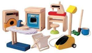 Plan Toys Casa De Muñecas Accesorios Domésticos Set