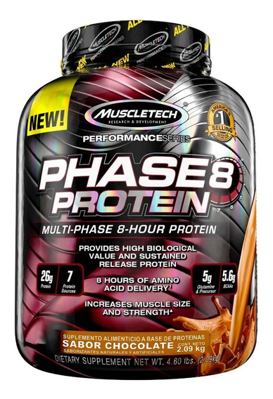 Proteina Muscletech Phase 8 Protein 4.60 Lbs. (2.09 Kg)