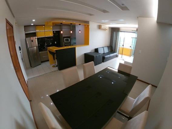 Apartamento Com 3 Dormitórios Para Alugar, 94 M² Por R$ 3.800/mês - Ponta Negra - Manaus/am - Ap0489