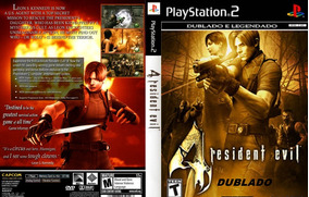 Patch Resident Evil 4 - Dublado & Legendado Ps2