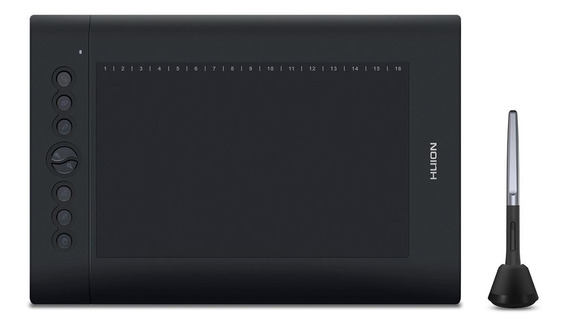 Mesa digitalizadora Huion H610 Pro V2 Black