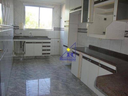 Apartamento Com 3 Dormitórios À Venda, 98 M² Por R$ 425.000,00 - Vila Carrão - São Paulo/sp - Ap3672