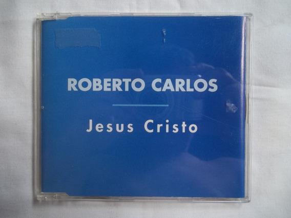 Cd Single Ep Roberto Carlos Jesus Cristo Excelente Estado