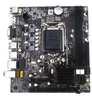 Placa Mãe Bmbh61-d Nova Intel I3 I5 I7 Lga 1155 Chipset H61