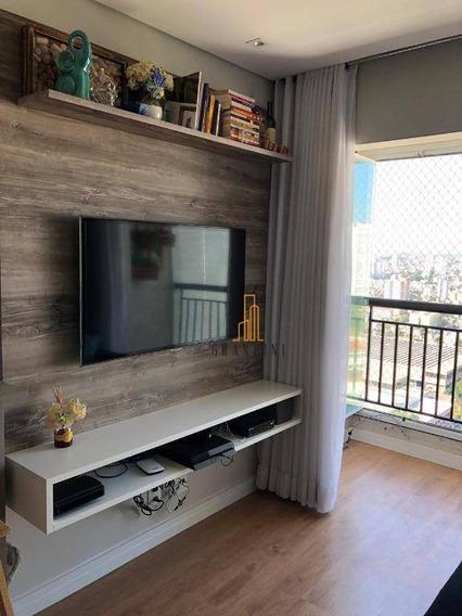 Apartamento Com 2 Dormitórios À Venda, 56 M² Por R$ 381.000 - Planalto - São Bernardo Do Campo/sp - Ap1603