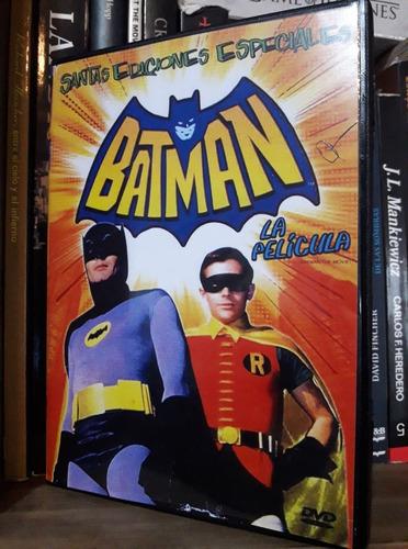 Batman, La Pelicula 1966 Dvd Adam West Dc Comics Retro