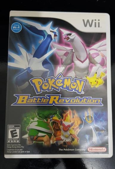 Pokemon Battle Revolution Nintendo Wii Original Usado