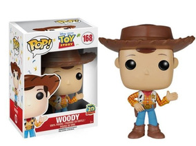 Funko Pop Disney Toy Story Boneco Woody #168