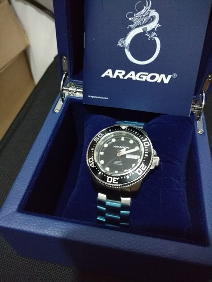 Relógio Aragon Masculino - Novo
