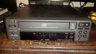 Cd Player Sony Compactera Cdp S41