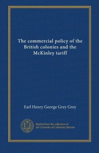La Política Comercial De Las Colonias Británicas Y El Arance