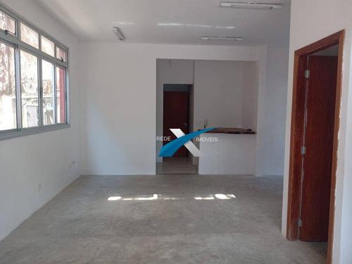 Imagem 1 de 14 de Sala Comercial Para Locação Com Aproximadamente 130m2, No Bairro Santa Lúcia: - Sa0582