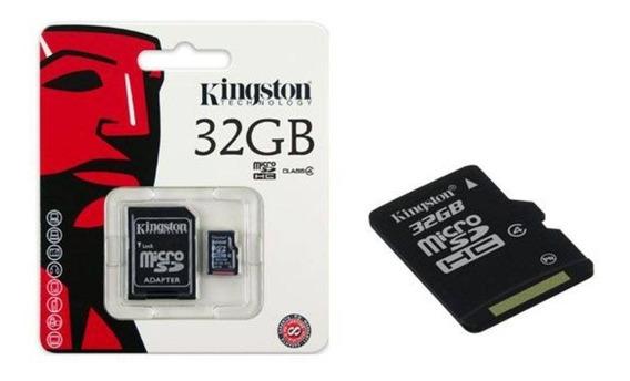 Cartão De Memória Microsd 32gb - Kingston