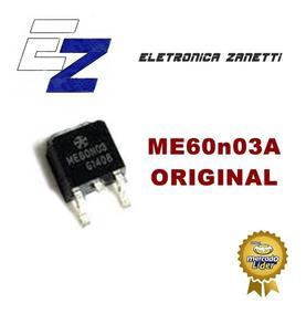 05 X Transistor Me60n03a - 60n03a Original,frete C.r. $10,00