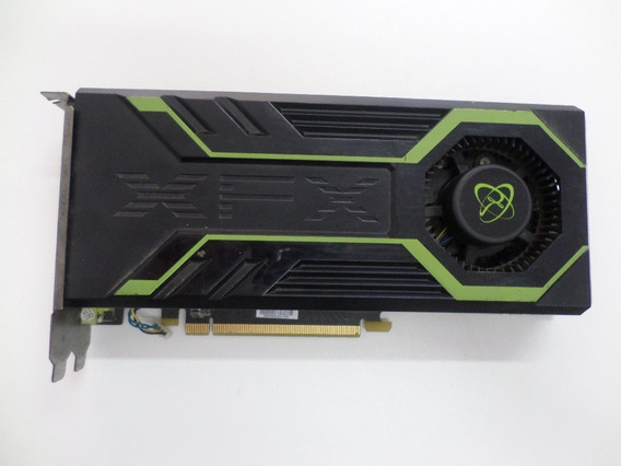 Placa De Video Xfx Geforce Gts 250 1gb 256 Bits C/ Defeito