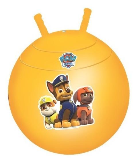 Pula Pula Patrulha Canina Amarelo Infantil Lider Brinquedos