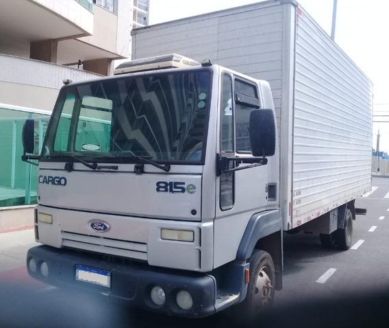Caminhão Ford Cargo 815 2008/2009 (aceito Terreno Troca)
