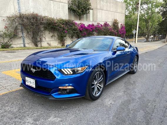 Ford Mustang 2017 2.3 Ecoboost Automatico Piel Seminuevo!!