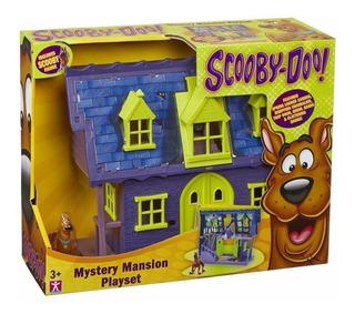 Scooby Doo! Casa Mansion Del Terror Misterio Playset Intek