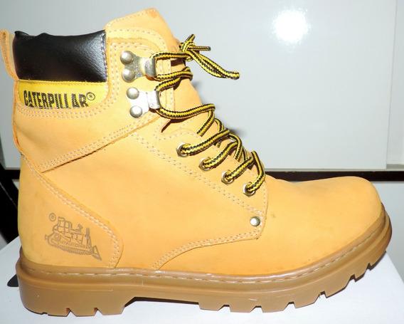 Bota Sapato Tenis Masculino Caterpillar Couro Original !