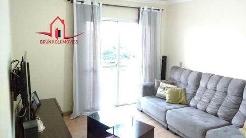 Apartamento A Venda No Bairro Jardim Planalto Em Jundiaí - - 3232-1
