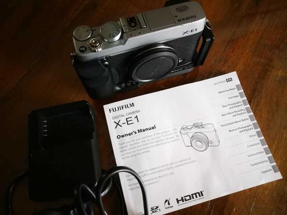 Câmera Fuji Xe1 Com Grip (somente O Corpo)