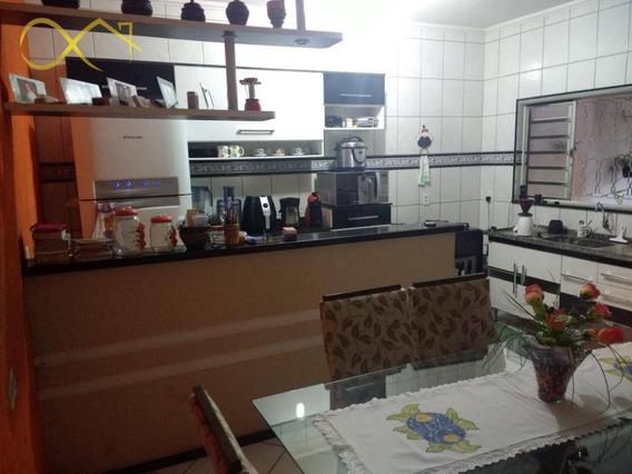 Casa Com 3 Dormitórios À Venda, 160 M² Por R$ 260.000 - Residencial Vale Das Nogueiras - Americana/sp - Ca1388