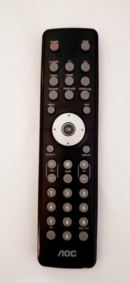 Controle Remoto Tv Aoc Led/lcd Cr2032