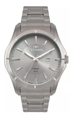 Relógio Technos Masculino Executive Titânio 2115mtw/4c