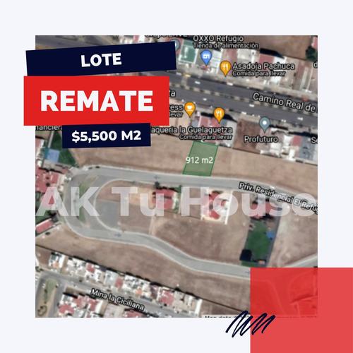 Imagen 1 de 7 de Venta A Precio De Remate Terreno Residencial El Refugio Zona