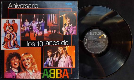 Disco Vinilo Abba. Aniversario. Los 10 Años De Abba. 21053