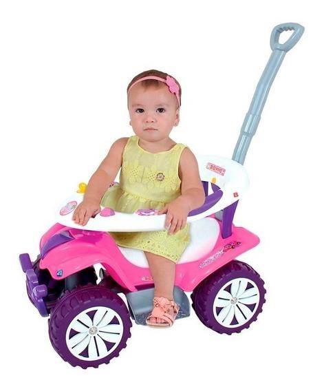 Carrinho De Passeio Andador Infantil Rosa Biemme Sofy Car