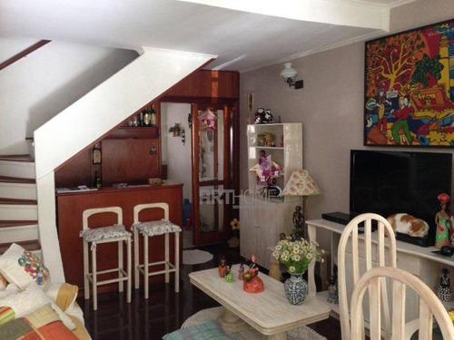 V. Caminho Do Mar, Sobrado 02 Dorms, 03 Vagas 162,48 M² - So0364