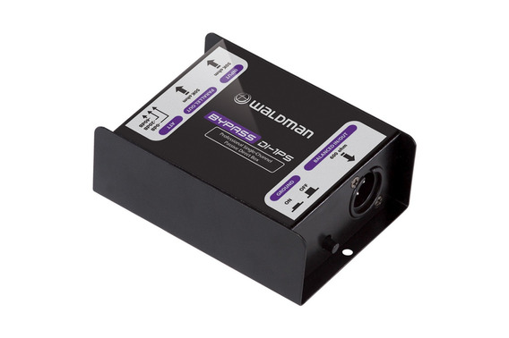 Direct Box Profissional Di-1ps 1 Canal Mono - Waldman +nf