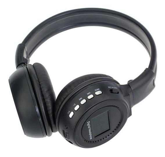 Fone De Ouvido Bluetooth Sem Fio Super Bass Fm + Usb
