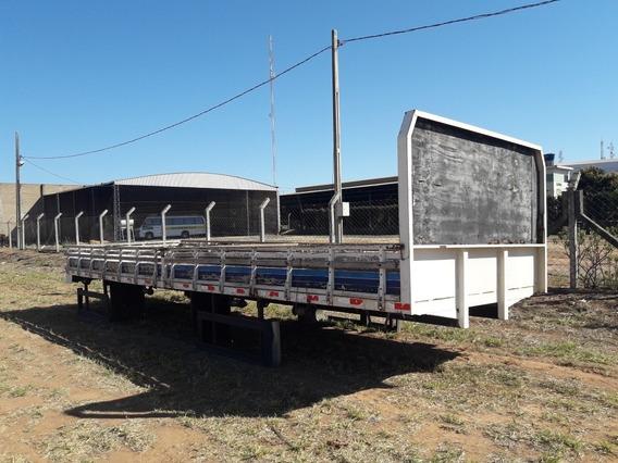 Carroceria P/ Truck De Ferro E Madeira 8,50m